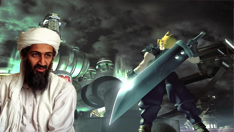 Osama Bin Laden Final Fantasy VII Min