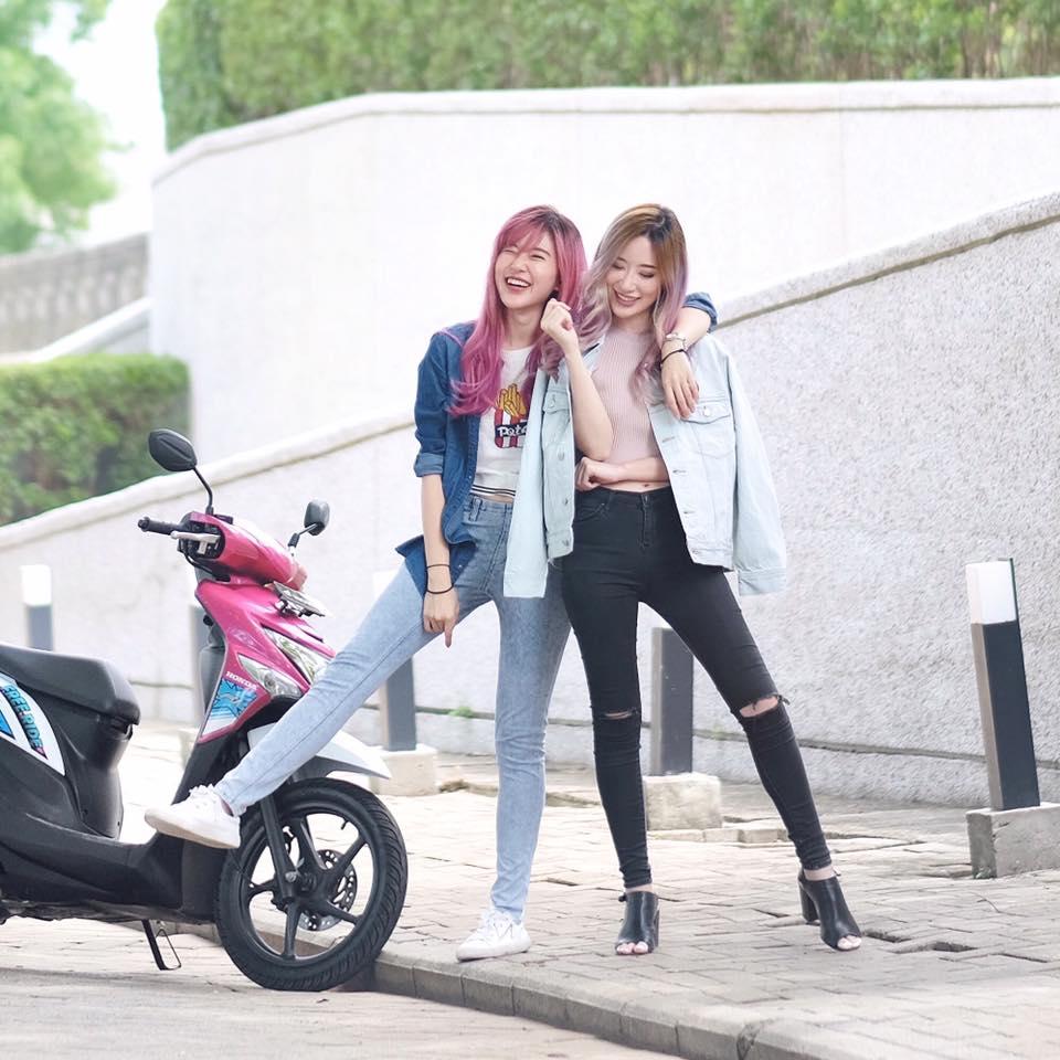 Saking Cantiknya Dua Bersaudara Asal Indonesia Ini Disangka Orang Jepang