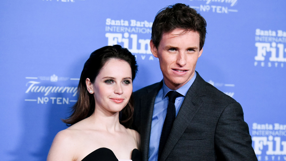Eddie Redmayne Felicity Jones