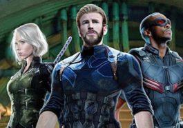 Poster Infinity War Capteam