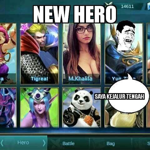 15 Meme Mobile Legends Bikin Pemainnya Tersindir, Moba Kok Analog 9