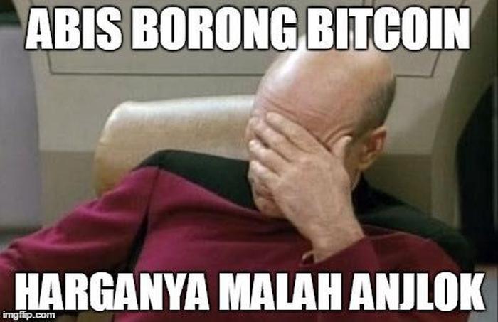 Meme Bitcoin Anjlok