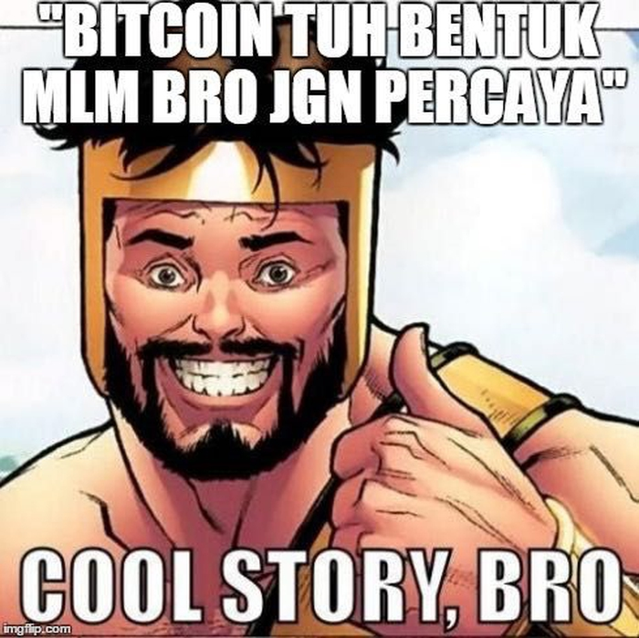Meme Bitcoin Harga Turun Drastis