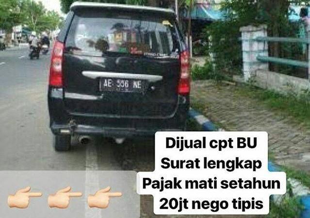 Jual Mobil Zonk