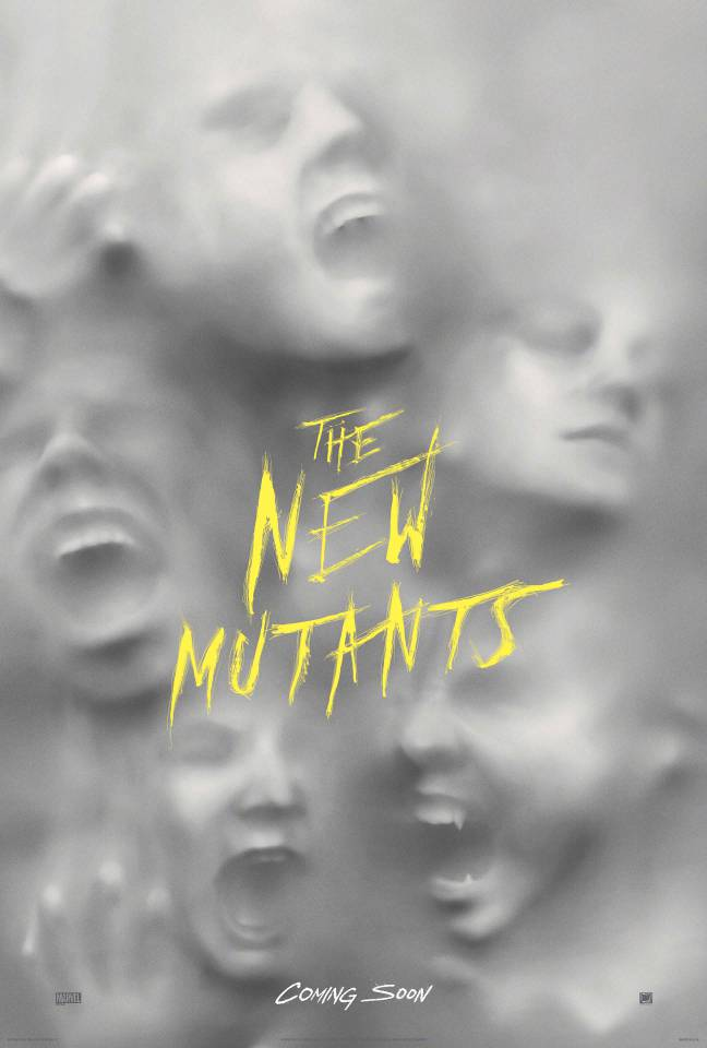 New Mutants Uk Poster