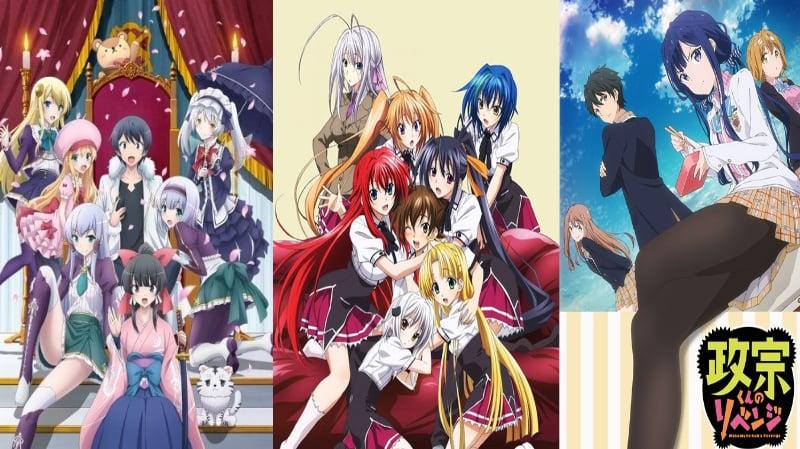 10 Rekomendasi Anime Harem Terbaik, Saat Impian Para Jomblo Terkabul