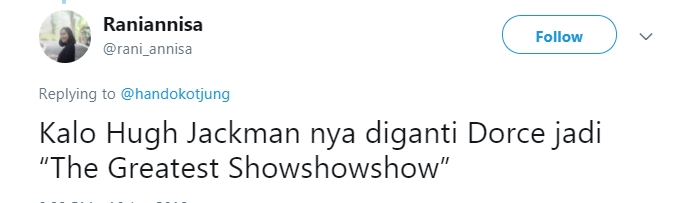5 The Greatest Showman DAFUNDA