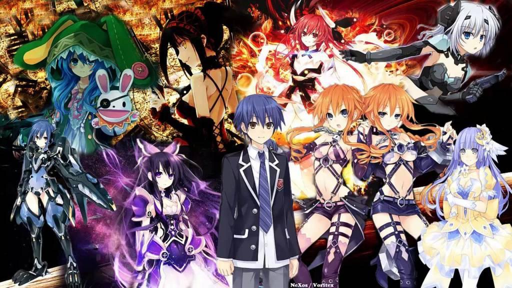 15 Rekomendasi Anime Harem Terbaik, Saat Impian Para Jomblo Terkabul Date A Live