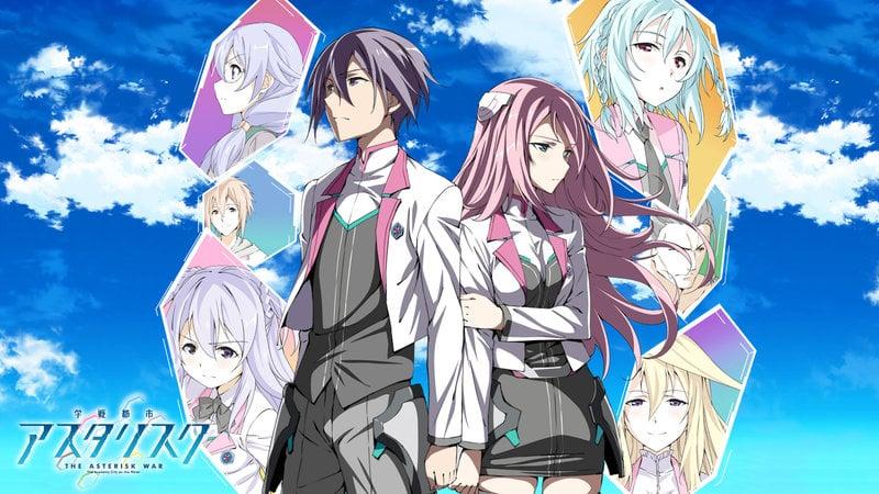 15 Rekomendasi Anime Harem Terbaik Saat Impian Para Jomblo Terkabul Gakusen Toshi Asterisk