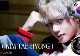 19 Artis K Pop Yang Dinobatkan Sebagai Pria Tertampan Di Dunia 2017 V BTS