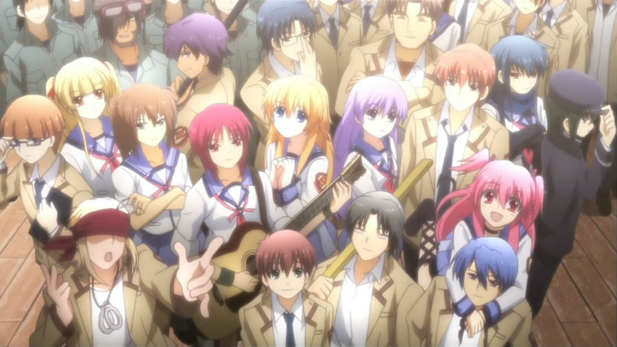 Angel Beats Dafunda Otaku
