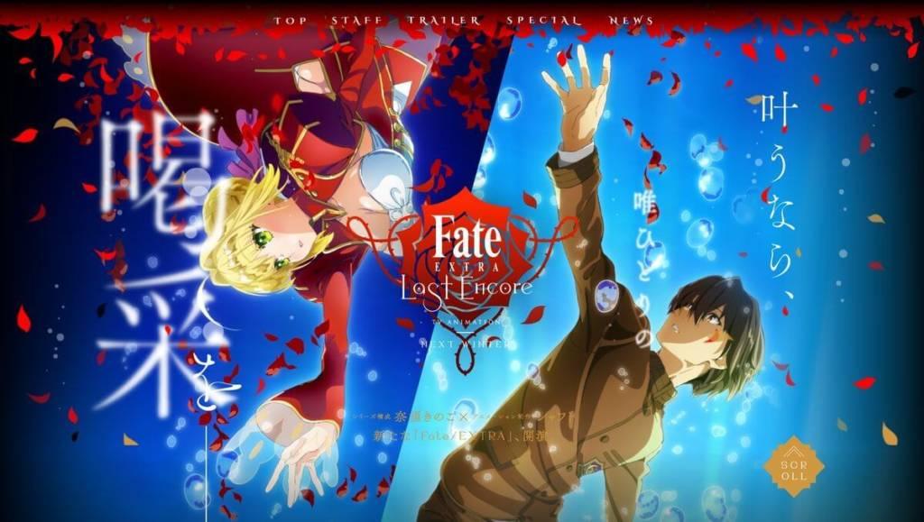 Anime FateExtra Last Encore Tampilkan PV Dan Visual Terbaru Fate Extra Last Encore