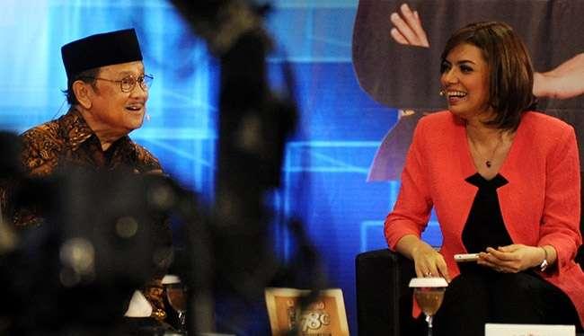 BJ Habibie Dan Najwa Sihab Membahas Teori Bumi Datar Dan Alien