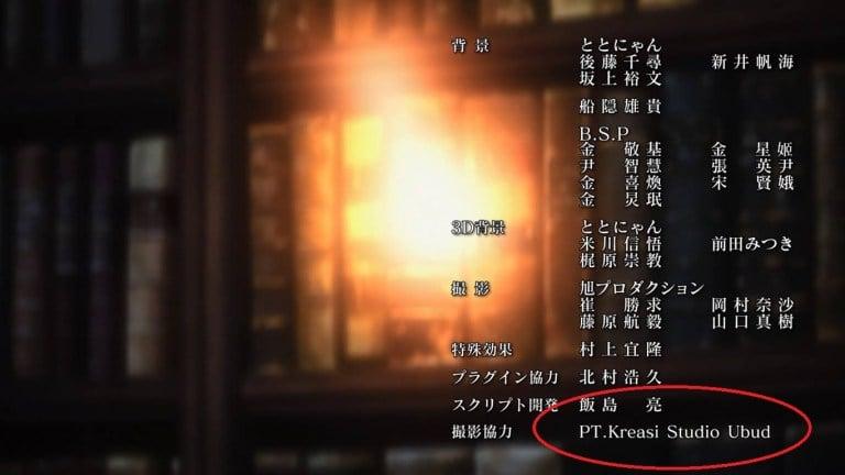End Credits Anime Grancrest Senki Dafunda Otaku