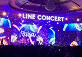 Foto 5 Raisa Dalam LINE Concert Medan 2018 2