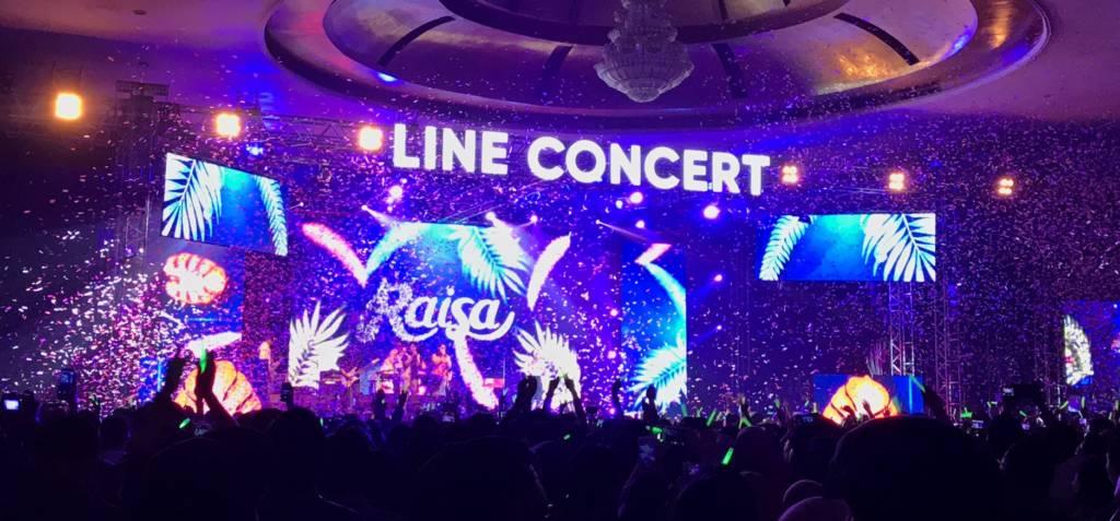 Foto 5 Raisa dalam LINE Concert Medan 2018 2 - Suksesnya LINE Concert Medan dan Sorotan Netizen Atas Penampilan Memukau Raisa | Dafunda Tekno
