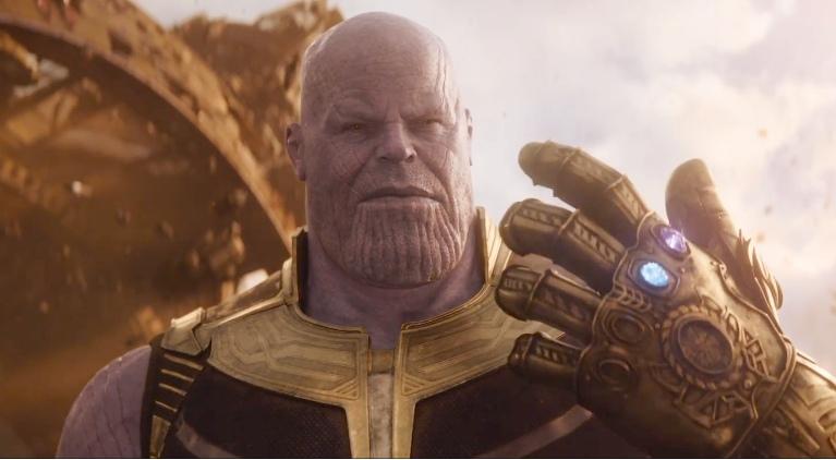Kekuatan Thanos Tubuh Super Avengers Infinity War