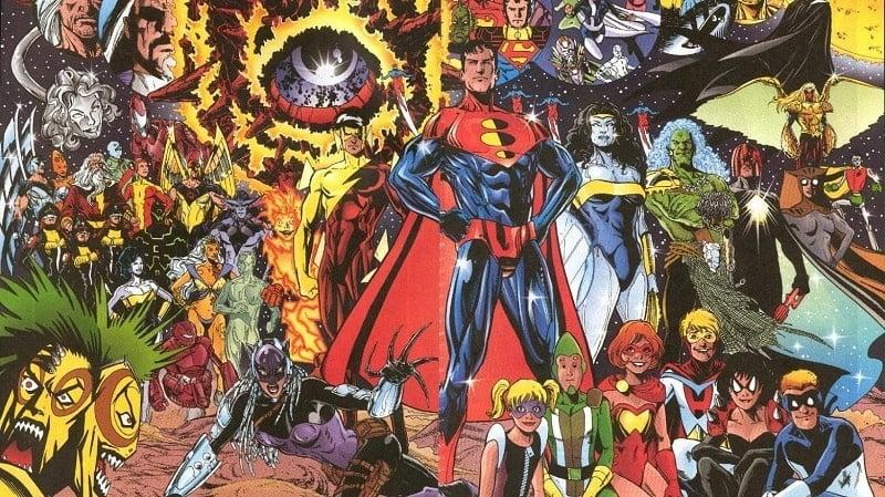 Komik DC Terbaik DC One Million Min