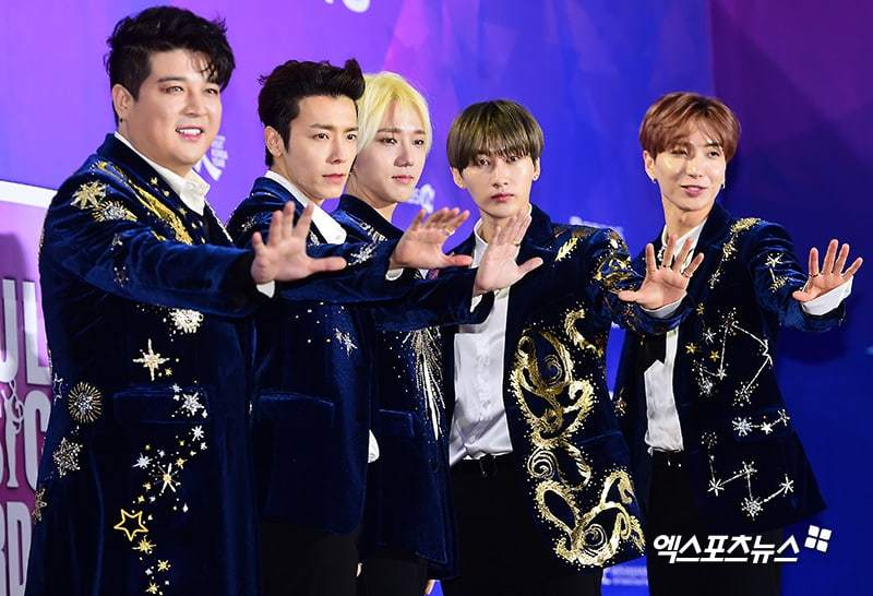 Super Junior XPN3 - Penampilan Para Selebriti Dan Idol K-Pop Di Red Carpet '27th Seoul Music Awards' | Dafunda Musik