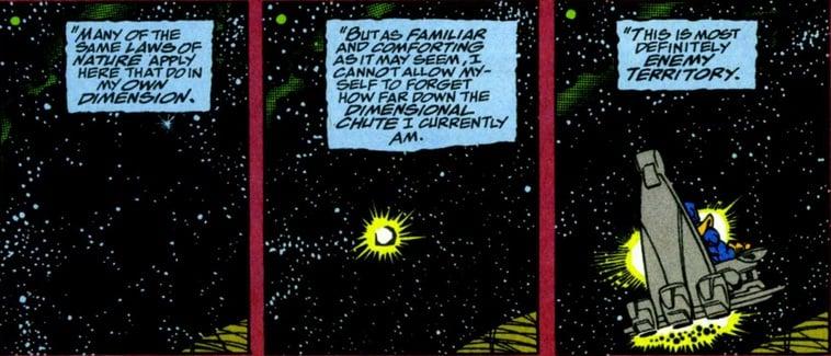 Kekuatan Thanos Teleportasi