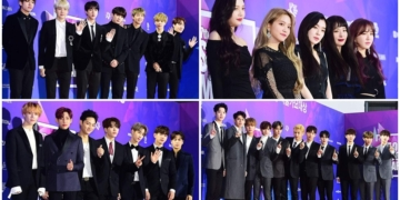 Penampilan Para Selebriti Dan Idol K-Pop Di Red Carpet '27th Seoul Music Awards'