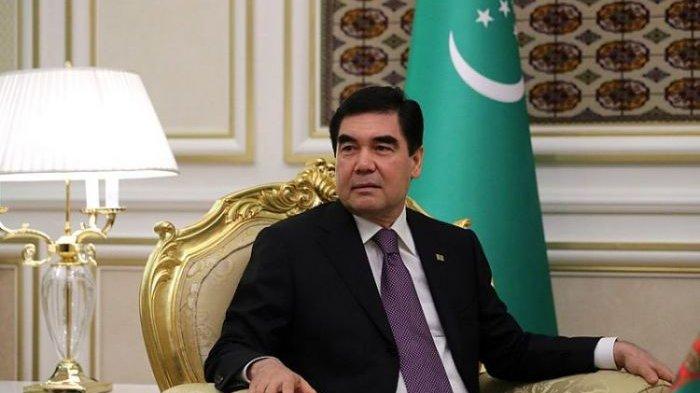 Presiden Turkmenistan Gurbanguly Berdymukhamemedov 20180111 160037