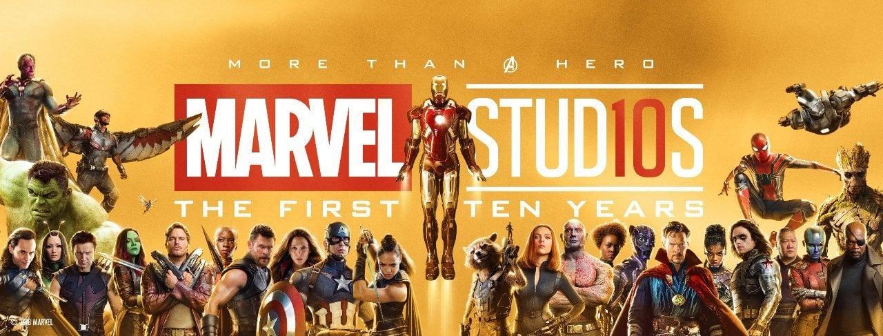 10 Tahun Marvel Banner