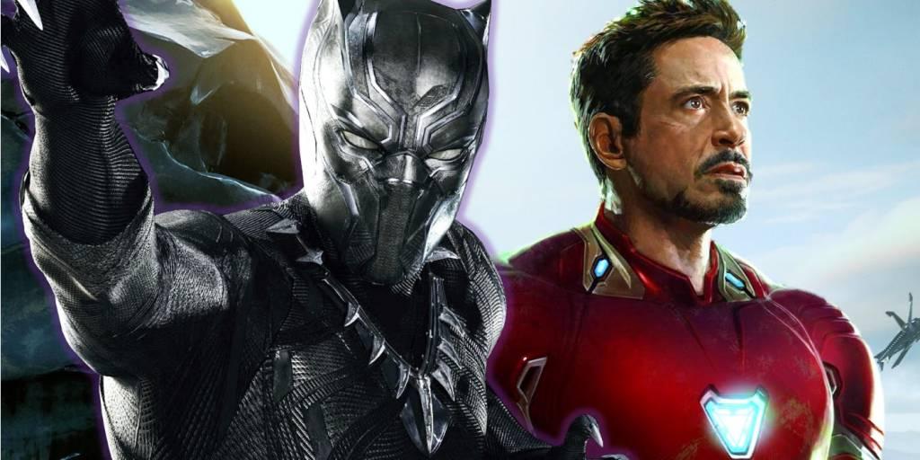 Black Panther Movie Iron Man