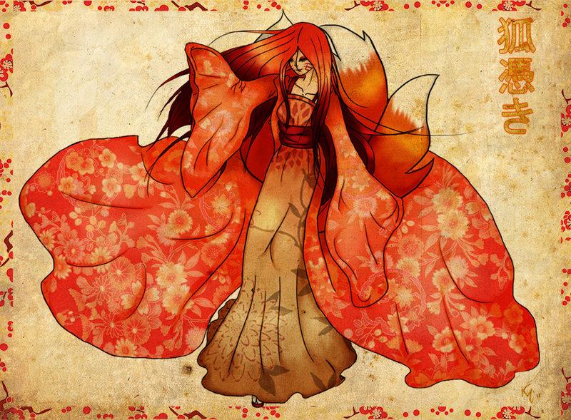 Mengenal Kitsune Tsuki, Roh Kitsune Yang Merasuki Tubuh Manusia Yang Terkenal Di Jepang!
