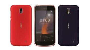 Tampilan Nokia 1 Ponsel Murah HMD Global