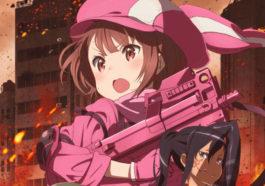 Visual Perdana Anime Sword Art Online Alternative Gun Gale Online