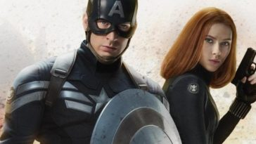 Captain America Black Widow