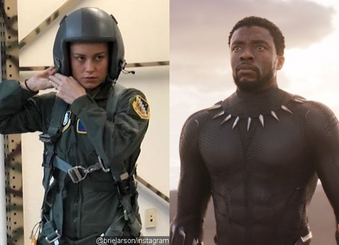 Captain Marvel Black Panther
