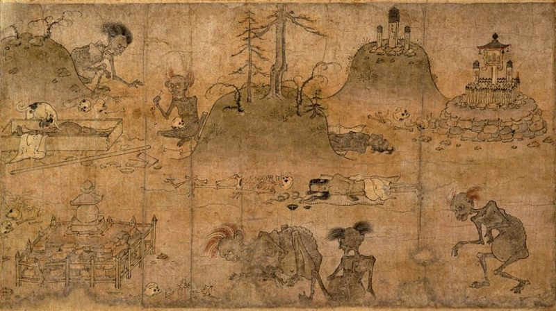 Gaki Zoshi Scroll Of The Hungry Ghosts Heian Period12th Century 1024x573 E1517993864959