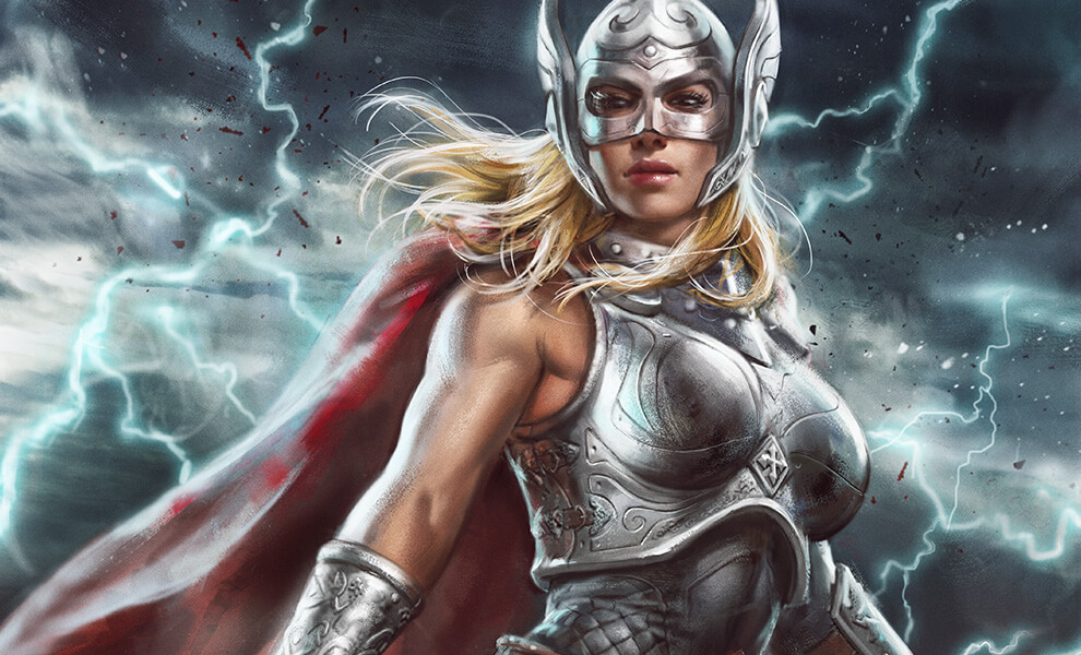 Jane Foster Goddess Of Thunder