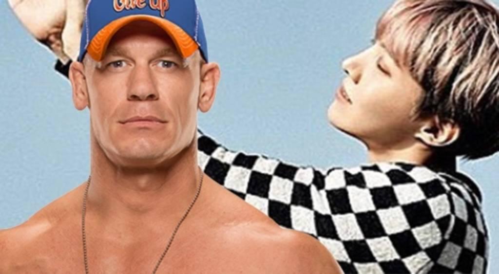 Ternyata Pegulat WWE 'John Cena' Adalah Penggemar BTS?