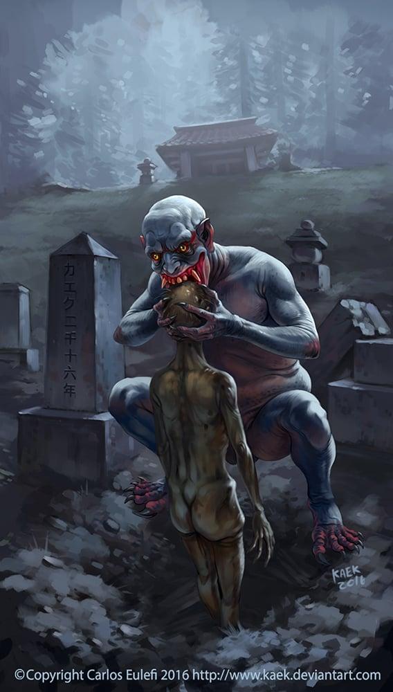 Mengenal Jikininki, Iblis Pemakan Mayat Manusia Yang Terkenal Di Jepang!