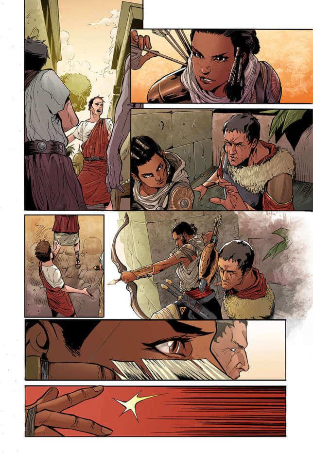 Komik Assassin Creed Origins 4