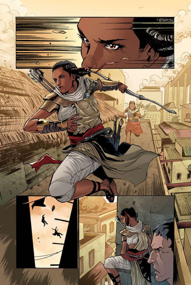 Komik Assassin Creed Origins 6