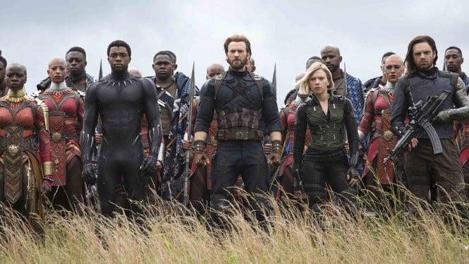 Berikut Infografik 33 Karakter Di Avengers Infinity War! Dafunda Com