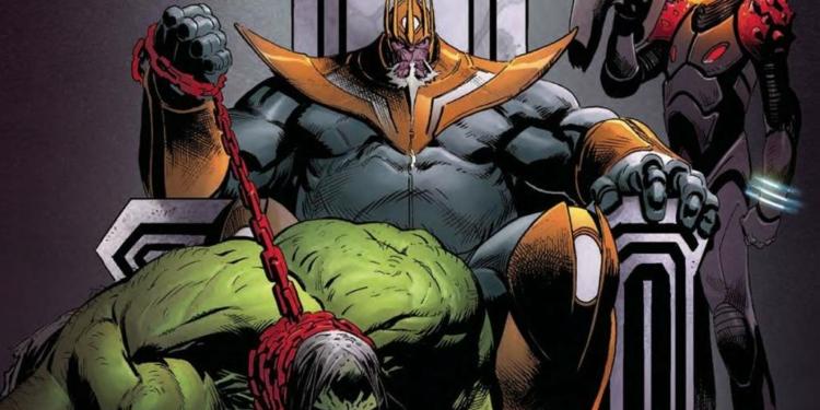 Hulk Jadi Peliharaan Thanos, Dalam Komik Yang Berjudul Thanos! Dafunda Com