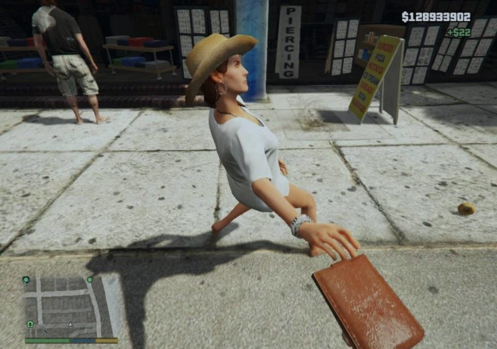 Mod Copet Gta V Pickpocket 1