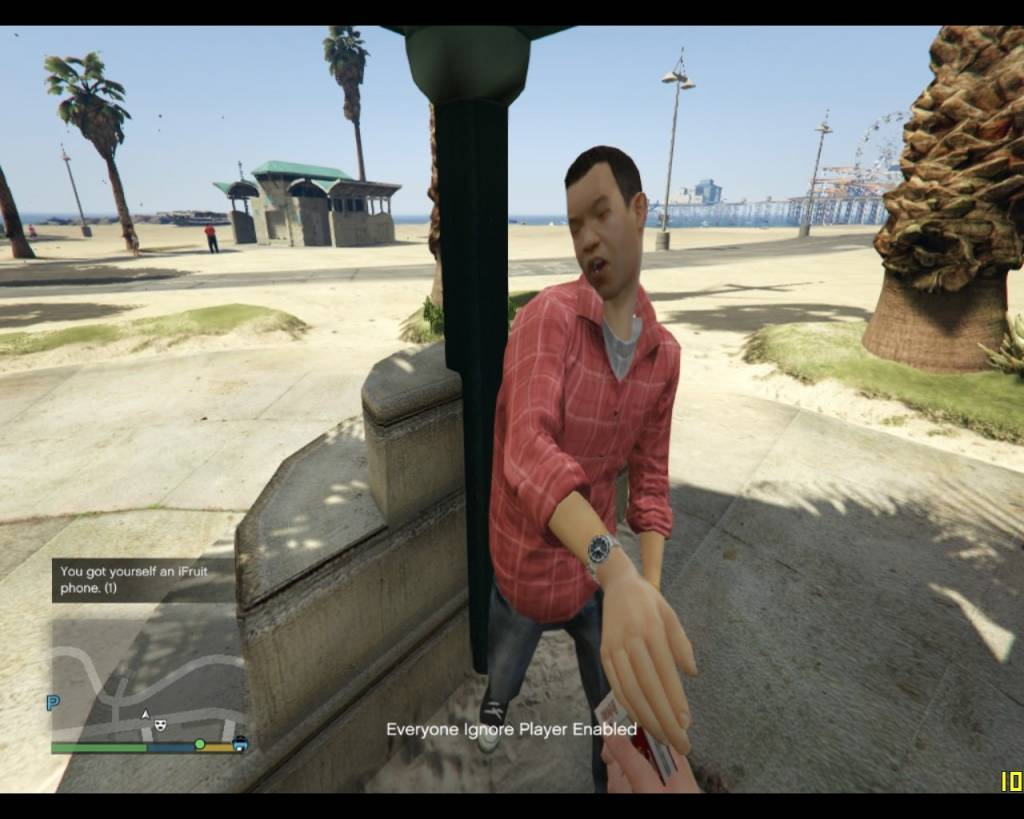 Mod Pickpocket GTA V