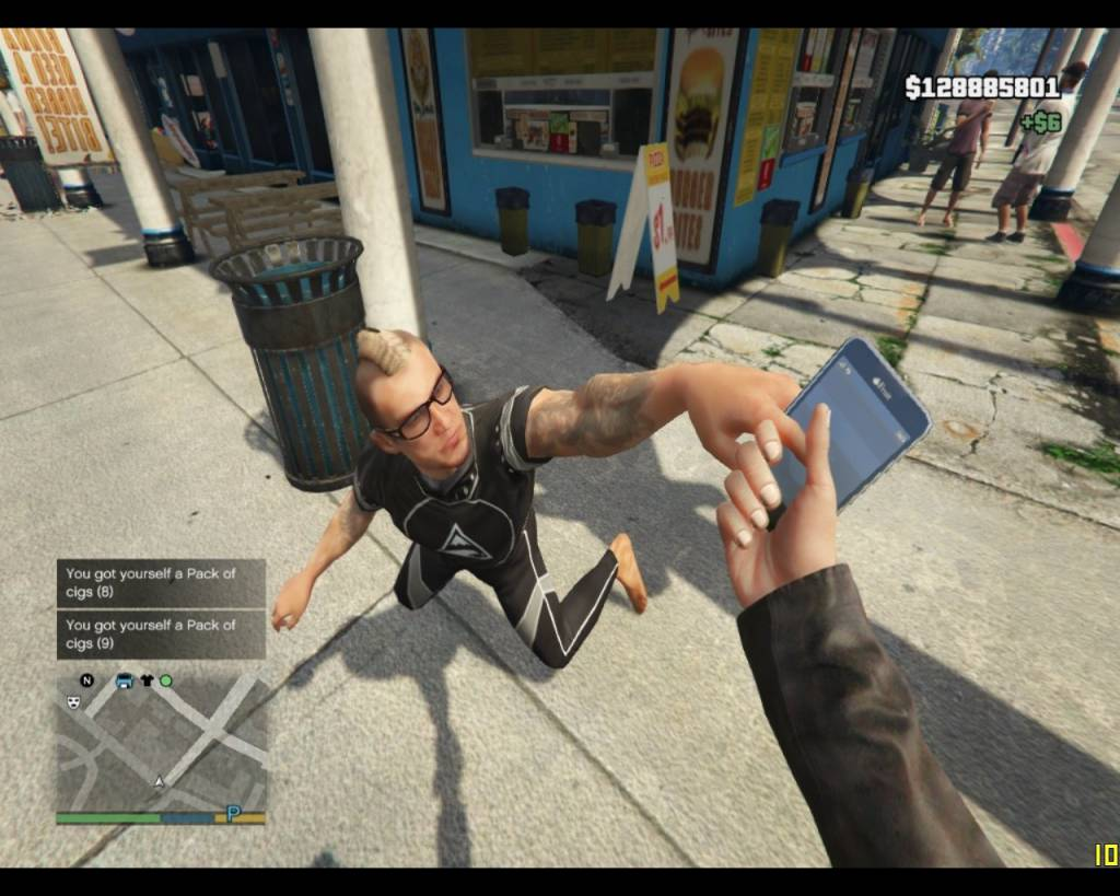 Mod Copet Gta V Pickpocket Min