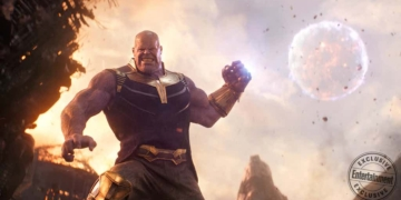 Thanos Throws A Moon In Avengers Infinity War