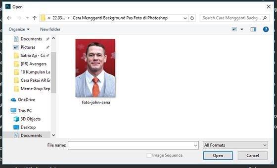 Cara Ubah Warna Background Foto Merah Biru (1)