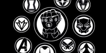 Logo Vision Scarlet Witch Promo Art Baru Infinity War 2