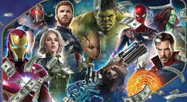 Perkiraan Pendapatan Opening Infinity War