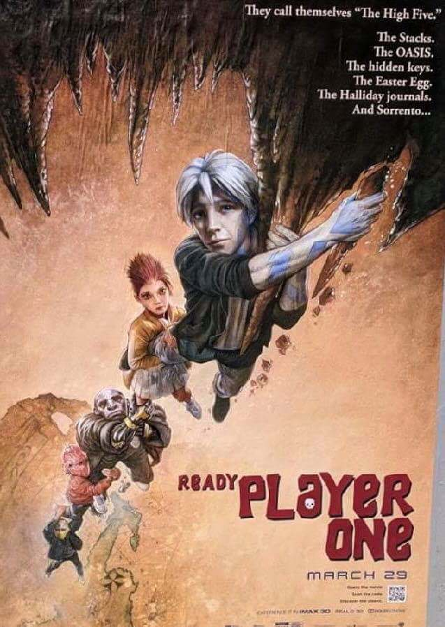 Poster Ready Player One 2