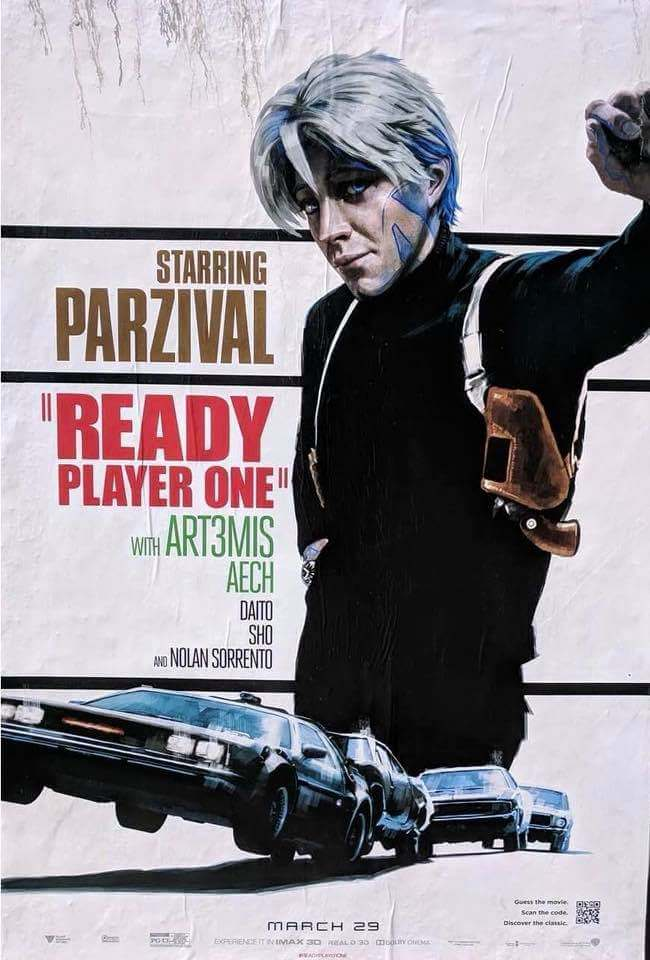 Poster Ready Player One 9